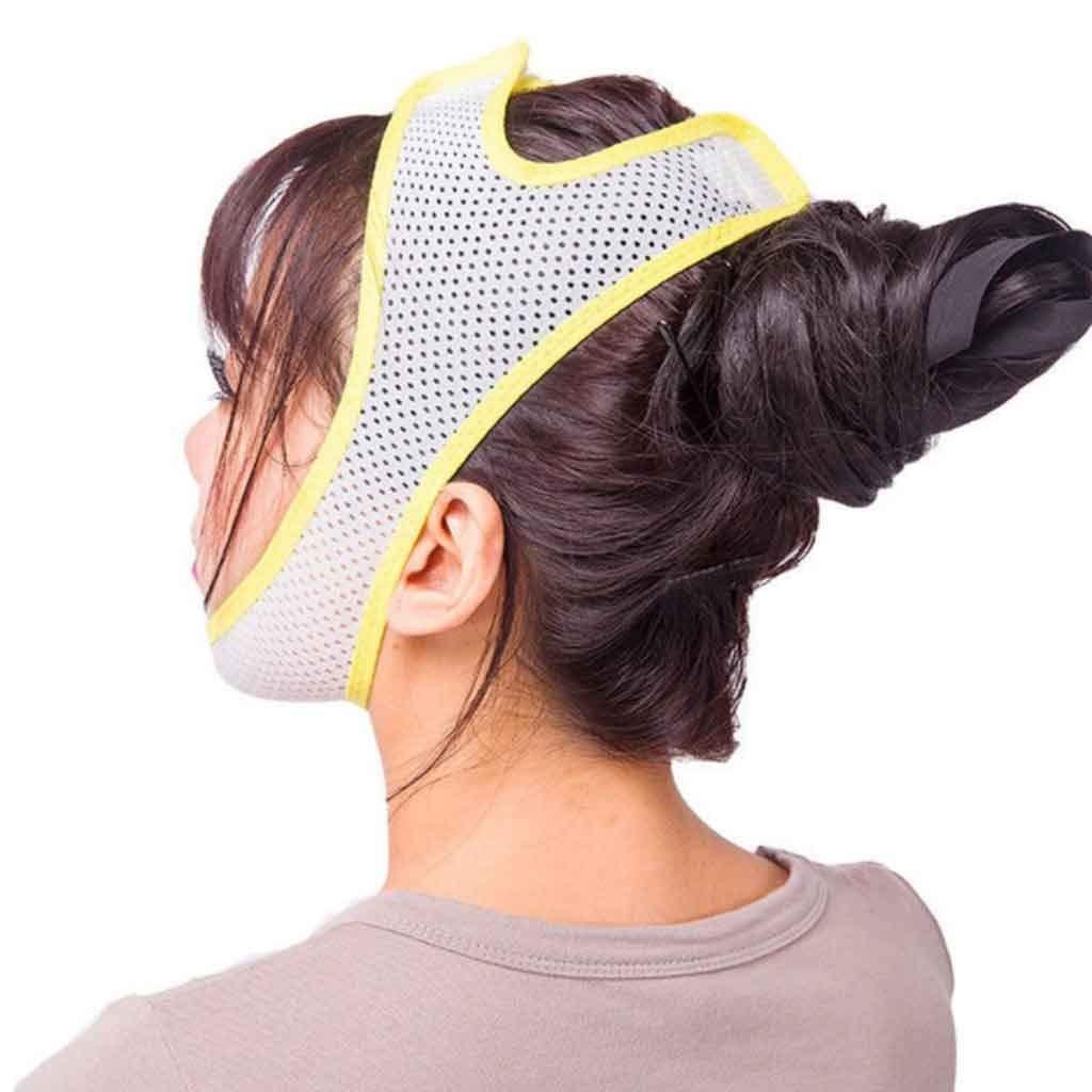 Adelgazante Facial M/áscara Vendajes de Cara para Adelgazar Papada Reductor y Antiarrugas Cuidado Facial Piel Compacto V-Line