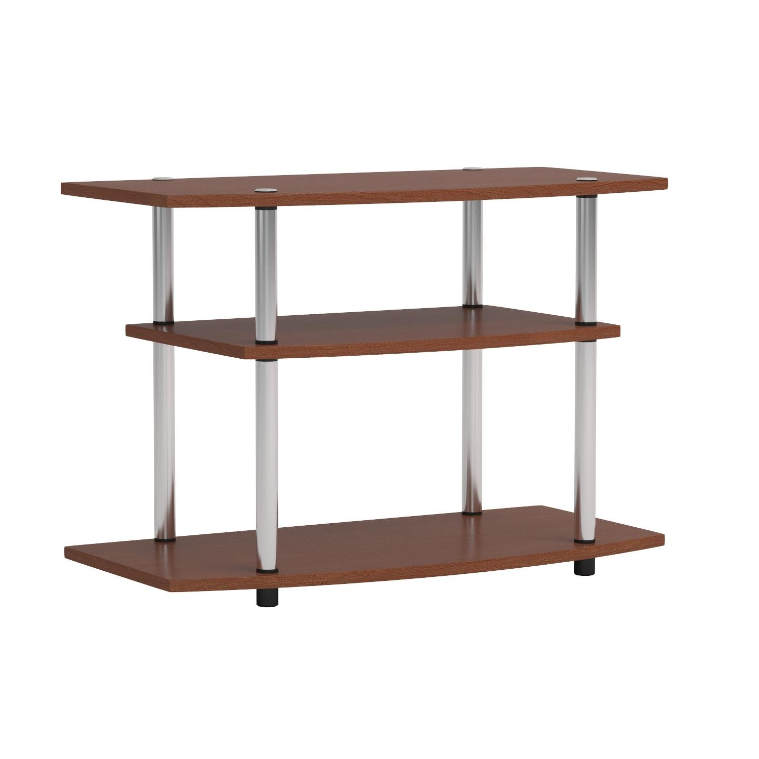 Convenience Concepts Designs2Go 3-Tier TV Stand for Flat Panel Television Up to 32-Inch or 80-Pound, Cherry by Convenience Concepts (Image #5)