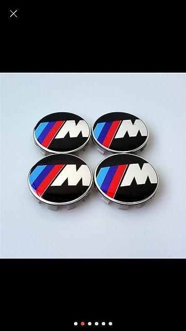 2 opinioni per x4 BMW M Power Tech Sport COPRIBULLONI CERCHI IN LEGA 68mm E39 E60 F10 F12 F20