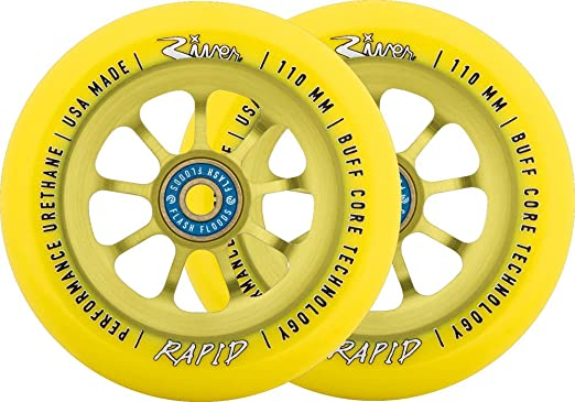 River Rapids Sunrise Patinete ruedas de 2 Pack: Amazon.es: Deportes y aire libre