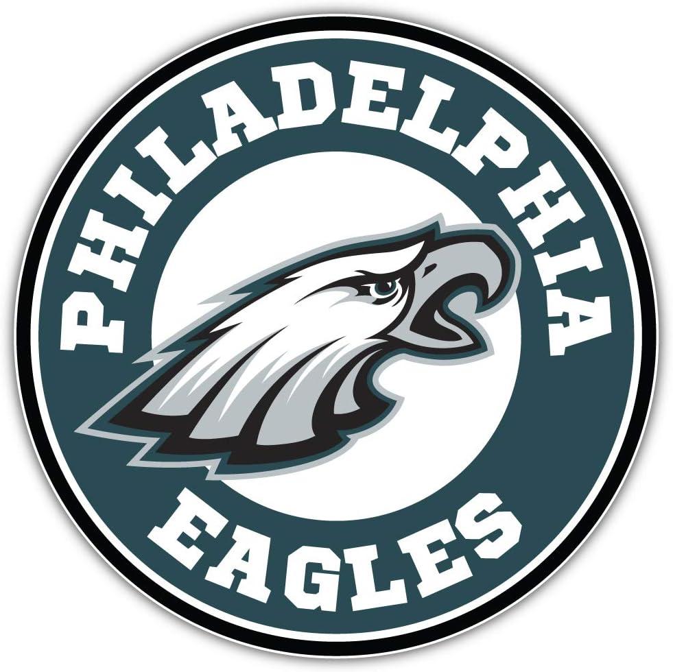 Philadelphia Logo Sport Decal 5 X 5 Eagles Football