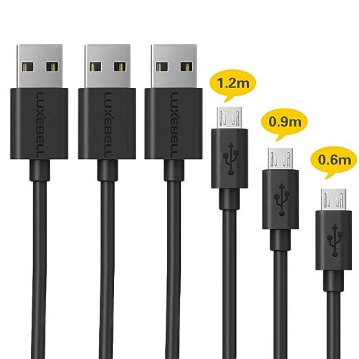 38 opinioni per Micro cavo Luxebell USB 2.0 maschio a