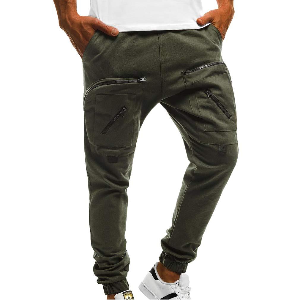 juqilu Pantaloni da Jogging da Uomo Pantaloni da Ginnastica Pantaloni Pantaloni Sportivi Pantaloni Casual S-3XL