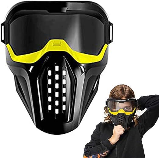 Hihey - Máscara Antipolvo con Gafas, máscara para la Boca, máscara ...