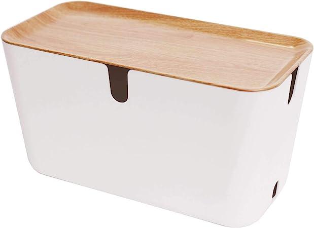 Bosign Hideaway XXL - Caja para cables (plástico, 46 x 21,5 x 24,5 ...