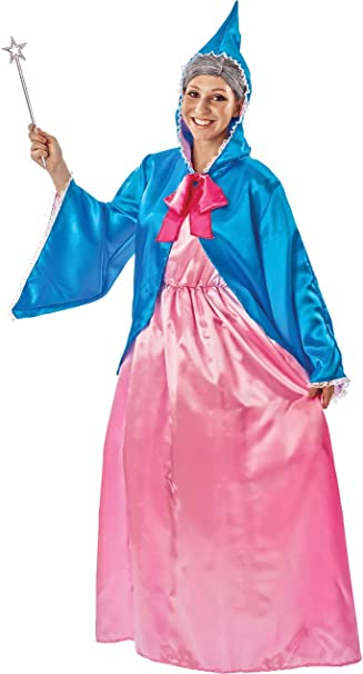 ORION COSTUMES Disfraz de Hada Madrina Mágica para Mujeres ...