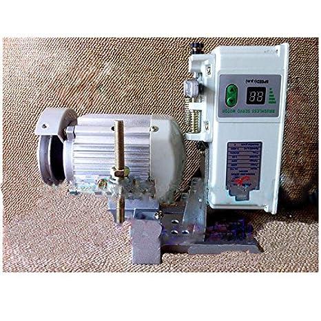 mabelstar 400 W Máquina de coser Industrial Motor Servo de ahorro de energía sin escobillas motor de velocidad sin escobillas motores de bajo consumo: ...
