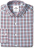 Ben Sherman Men's Slim Fit Roy Sp Multi TWL Gingh, 15.5'' Neck 34/35'' Sleeve