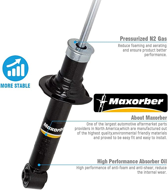 REAR LEFT AND RIGHT  SHOCK ABSORBER  FOR VAUXHALL GS3070R