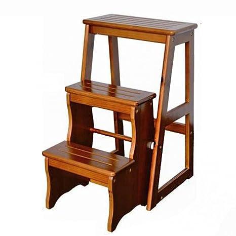 Scaletta pieghevole Scaletta Scaletta Scaletta scala in legno ...