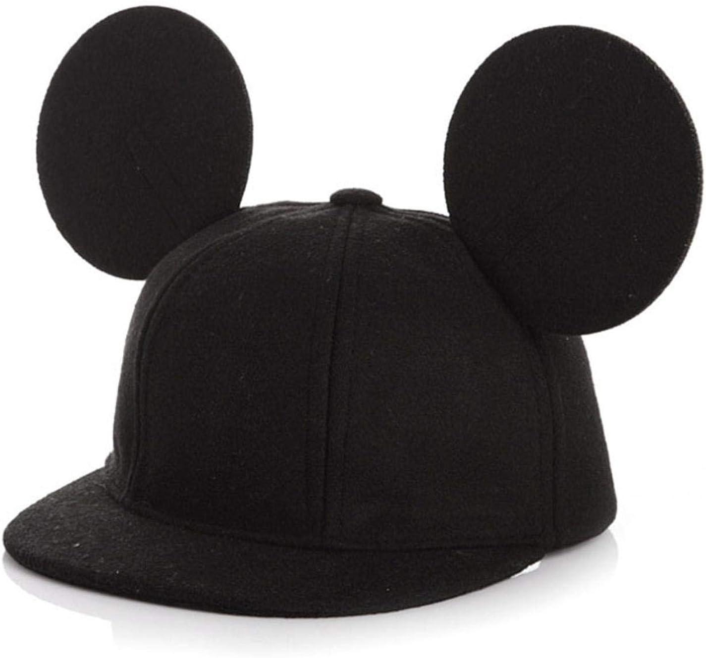 Parent-Child Mouse Ear Wool...