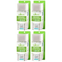 Organic Cotton Swabs by Sky Organics (1500 ct.) Natural Cotton Buds, Cruelty-Free...