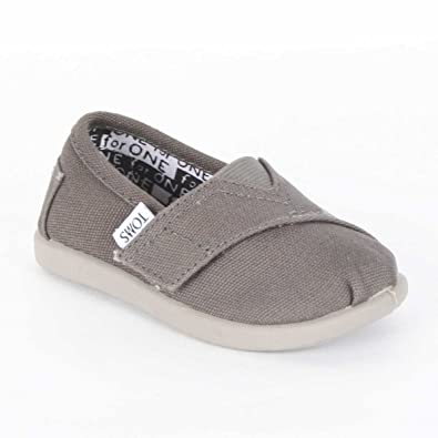 e4d1851feab Image Unavailable. Image not available for. Color  Toms - Tiny Ash Canvas  Classic Kids ...