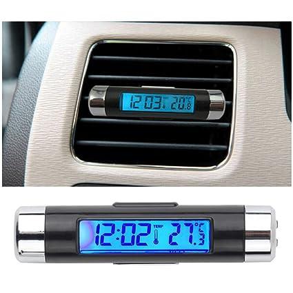 Amazoncom Happycow Car Auto Lcd Clip On Digital Backlight