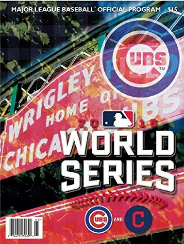 2016 CHICAGO CUBS WORLD SERIES PROGRAM NATIONAL LEAGUE CHAMPION TEAM SPECIFIC