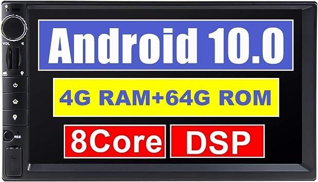 Eunavi 7 Inch Android 10 Universal Car Radio With Elektronik