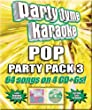 Party Tyme Karaoke - Pop Party Pack 3 (64-song Party Pack) [4 CD]