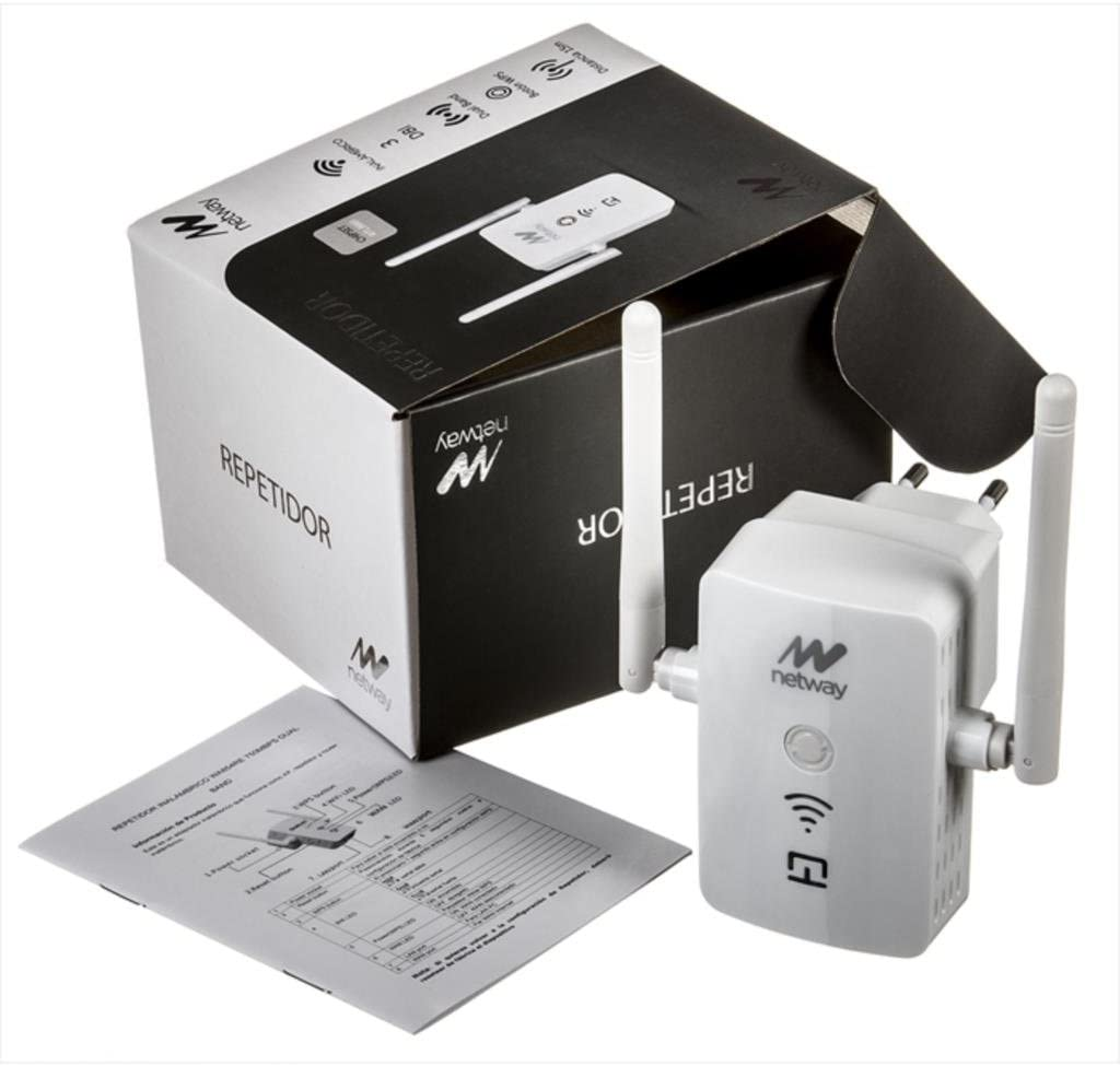Netway NW-WA854RE AC 750Mbps - Extensor de red WiFi/Repetidor ...