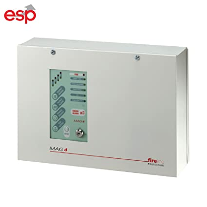 Panel de control de zona de Fire Panel de Alarma 4 Fire Esp ...