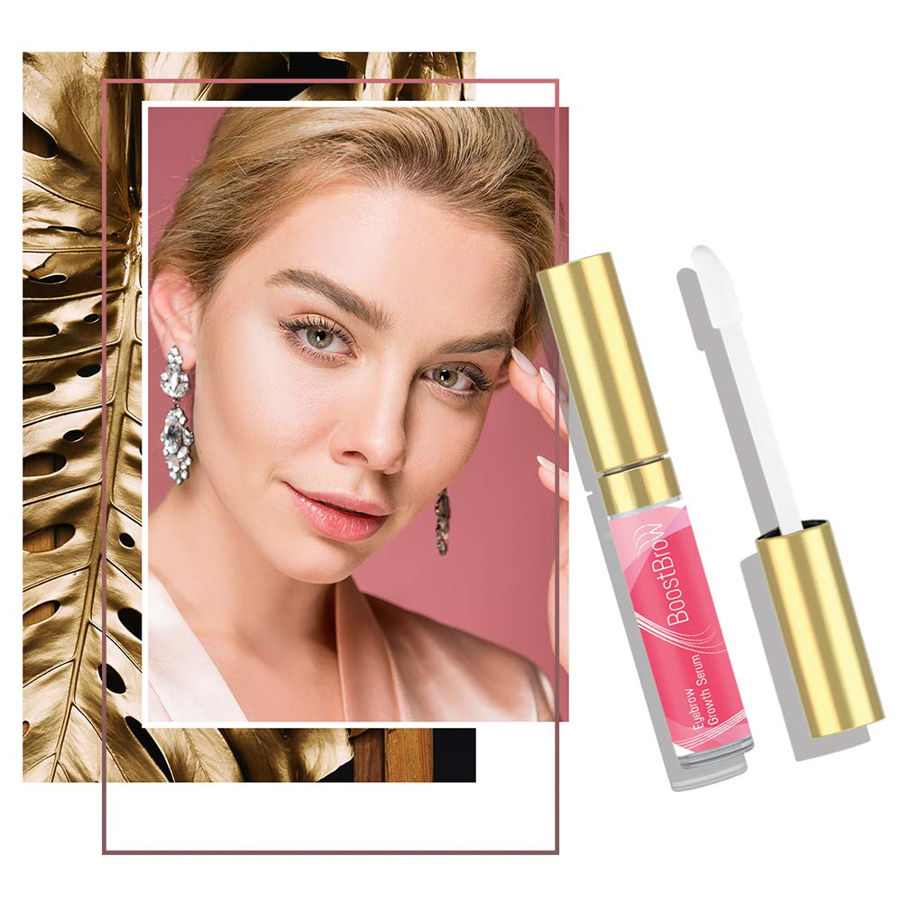 BoostBrow - Eyebrow Growth serum 7.5ml, Grows Longer Thicker Fuller & 3X Healthier Brows (in 30 days), Proudly Made in USA by Boostlash (Image #5)