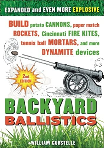 Backyard Ballistics Build Potato Cannons Paper Match Rockets Cincinnati Fire Kites Tennis Ball Mortars And More Dynamite Devices 2nd Edition