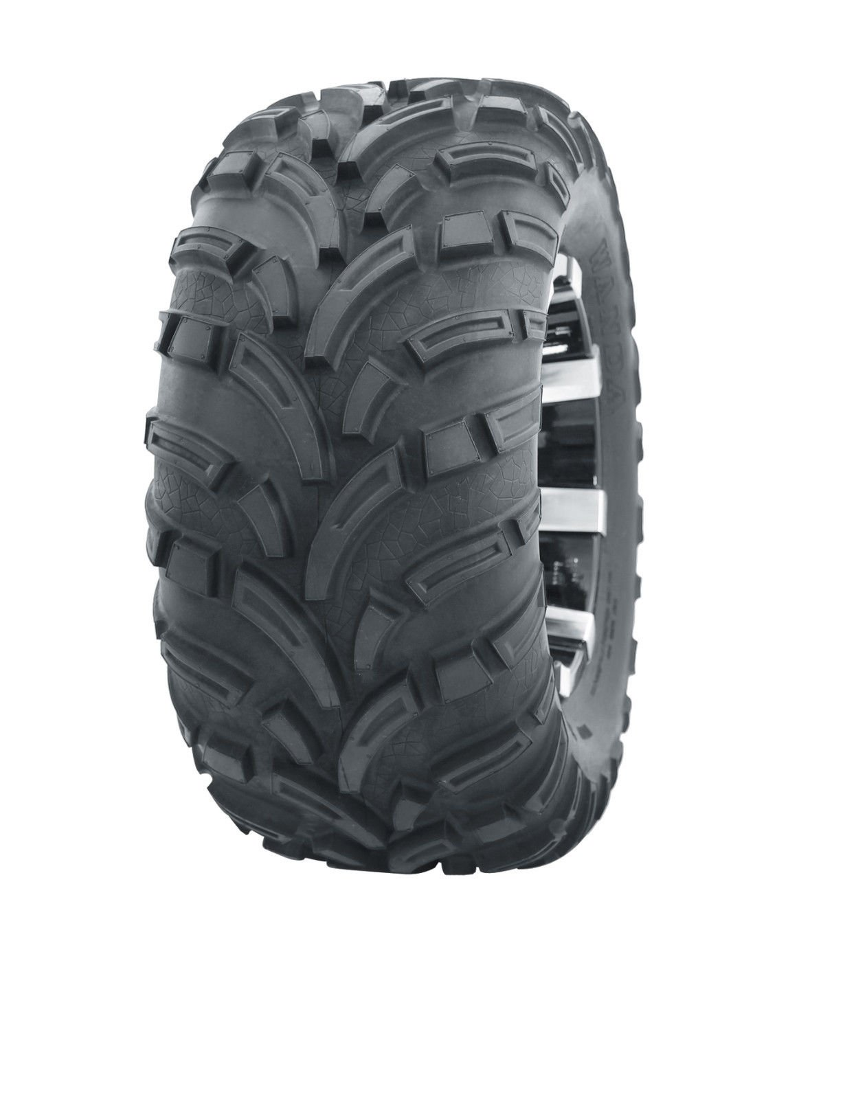4 New WANDA ATV Tires AT 25x8-12 Front & 25x10-12 Rear /6PR -10243/10244 6PR P373 by Skroutz by Wanda (Image #2)