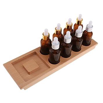 Baoblaze 1 x de Bandeja para Botellas Sensoriales Montessori Juguetes de Educación Temprana