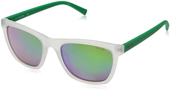 47371480a6c Amazon.com  Nautica Men s N3629sp Polarized Square Sunglasses ...