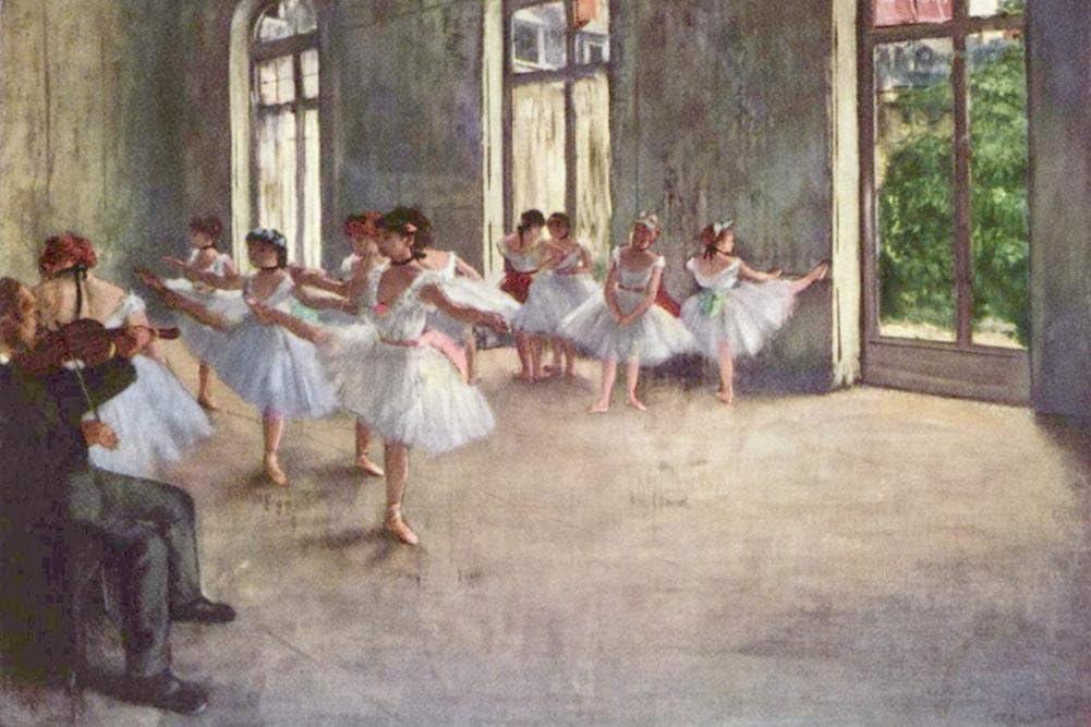 Hilaire-Germain-Edgar Degas | Ballet Dancers | NG4168