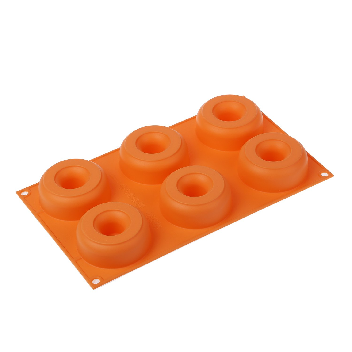 Silikomart Silicone Fancy and Function Bakeware Collection Multi-Shape Cake Pan, Donuts by Silikomart (Image #4)