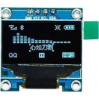 "HiLetgo 0.96"" I2C IIC Serial 128X64 OLED LCD Display 4 Pin Font Color Blue"