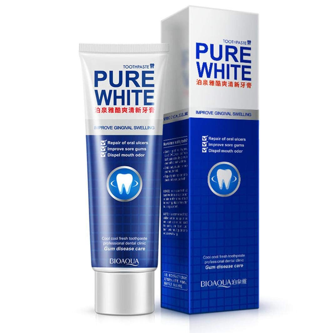 140g Mint Toothpaste Whitening Quick Remove Stain Yellow Bright 35% Carbamide Peroxide 20+ Whitening Treatments No Sensitivity Fresh Cranberry Teeth Whitening Gel (Multicolor)