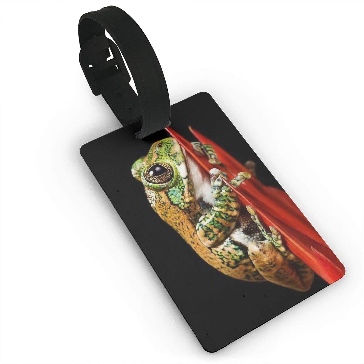 2 Pack Luggage Tags Frog Baggage Tag For Suitcase Bag Accessories