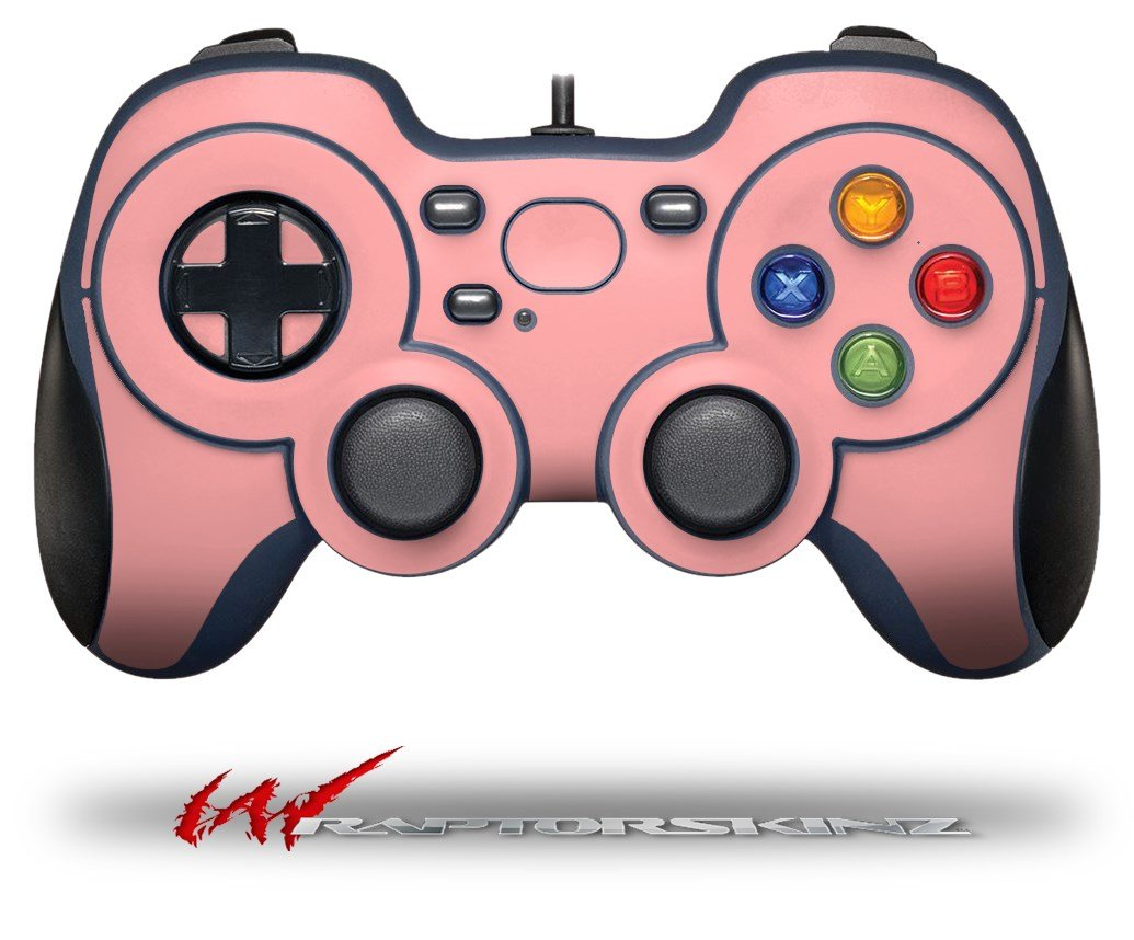 Hot Sale Solids Collection Pink Decal Style Skin Fits Logitech Sounder Sensor Trigger Drum Disc Plus Wire Copper Piezo Elements 27mm F310 Gamepad Controller