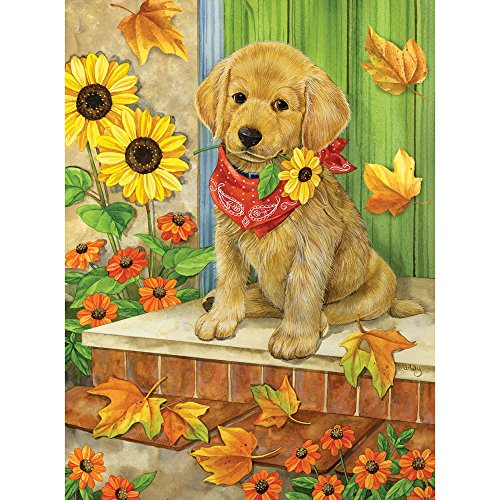 Bits and Pieces - 500 Piece Jigsaw Puzzle for Adults - Waiting for You - 500 pc Labrador Puppy Jigsaw by Artist Jane Maday