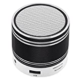 Portable Bluetooth Speaker Small Mini Speaker Stereo Sound Music Player with Microphone Speakerphone for Android Smart Phones Samsung Galaxy S9 S8 S7 S6 S5 LG K7 K8 K10 iPhone Motorola Laptops Black