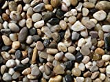 2 Pounds Small Decorative River Rock Stones - Natural Polished Mixed Color Stones Use In Glassware, Like Vases, Aquariums And Terrariums To Enhance The Appearance, - Katzco