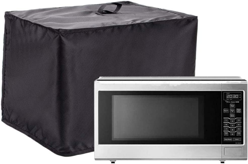 Microwave Cover, Heavy Duty Waterproof Toaster Oven Cover, 18.5