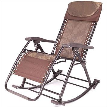 WJJJ Sillón reclinablemecedora Jardín Exterior Aleación de Aluminio Silla portátil de diseño Moderna Informal: Amazon.es: Deportes y aire libre