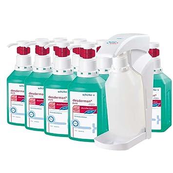 Desinfektions Set Von Schulke 10 X 1000 Ml Desderman Pure