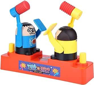 FTVOGUE Kids Funny Hand Press Doble plástico Robot Hammering Redcuing Juego de Juguete Interactivo(01): Amazon.es: Hogar