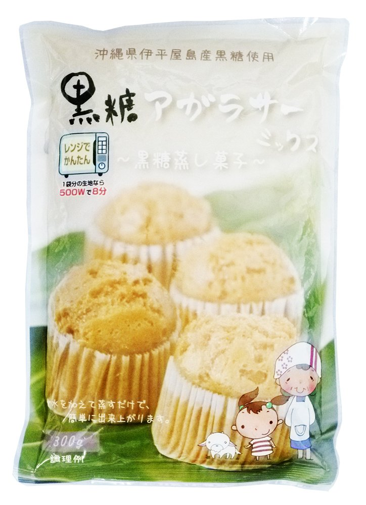 Only steam with the addition of water! Brown sugar rise Sir Mix (brown sugar steamed cake dedicated powder) 300gX6 bags