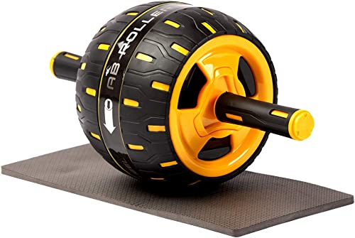 Besthls Abs Roller for Abs Workout Ab Roller Wheel Exercise Equipment with Knee Pad, Exercise and Fitness Wheel for Home Gym