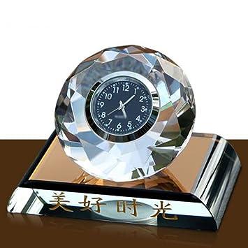 Perfume De Cristal Del Coche Reloj De Bola De Cristal Del Reloj Del Coche Perfume Del
