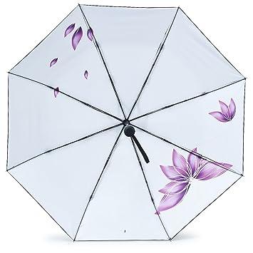 315394257b17 Hokeeper 日傘 折りたたみ傘 uvカット 100% 遮光 折りたたみ レディース 自動開閉 晴雨兼用 カバー