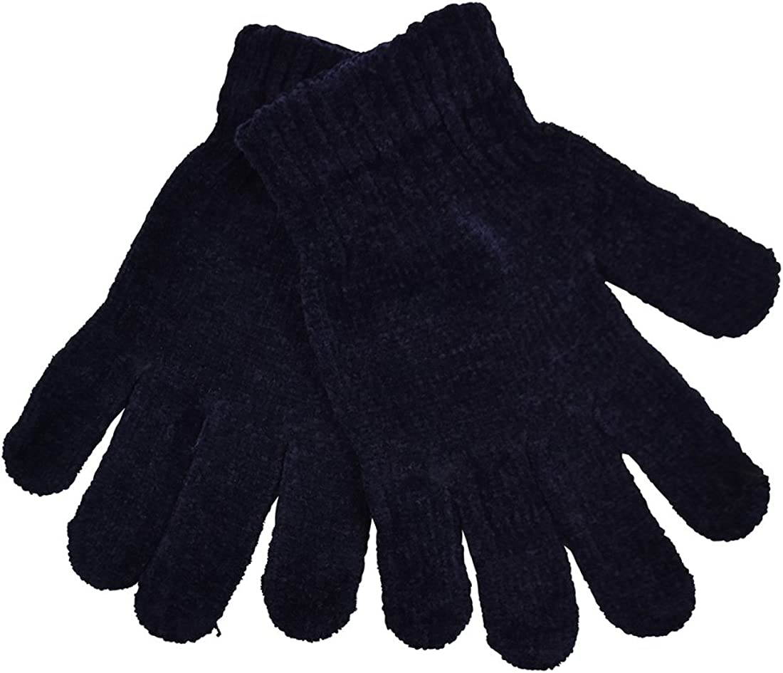 Chenille Gloves Women...