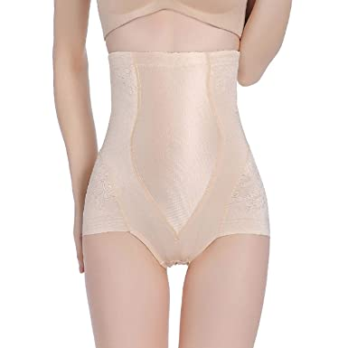 cce225a7be04c LVYING Breathable Body Shaper High Waist Shaping Panties Control Tummy  Slimming Underwear Postpartum Corset Shapewear at Amazon Women s Clothing  store