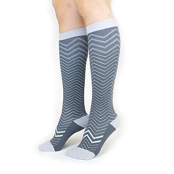 Trtl calcetines de compresión (pequeño, Seattle) – Suave compresión graduada (15-