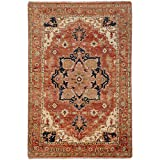 Surya Zeus ZEU-7805 Hand Knotted Classic Area Rug, 9 by 13-Feet For Sale