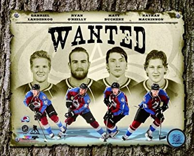 "Colorado Avalanche 2014 NHL ""Wanted"" Composite Photo (Size: 8"" x 10"")"